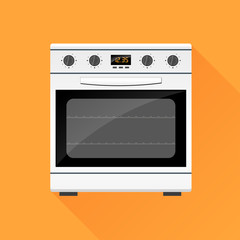 stove gas oven design icon