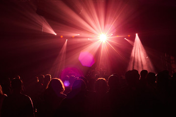Stage, concert light.