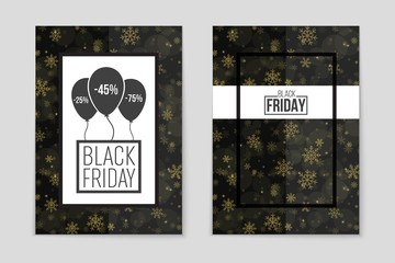 Abstract vector black friday sale layout background. For art template design, list, page, mockup brochure style, banner, idea, cover, booklet, print, flyer, book, blank, card, ad, sign, poster, badge