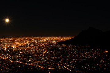Supermoon Cape Town