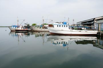 Fishing Boats - Cienfuegos - Cuba