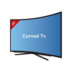 Smart Tv Curved-55 Inches