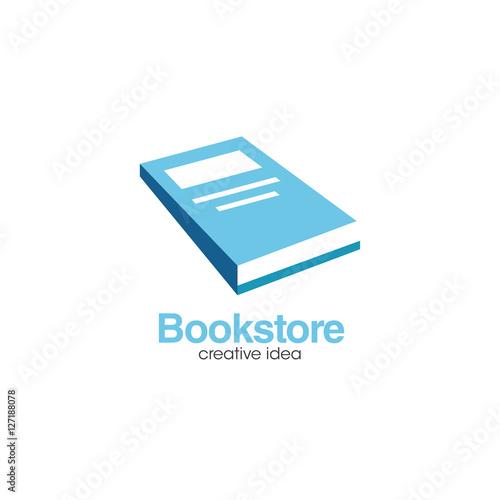 Creative Book Logo Design : Quot creative book concept logo design template stock image