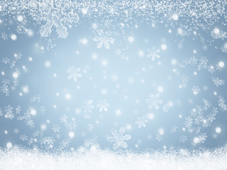 Weihnachten Winter Schnee Hintergrund