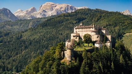 Hohenwerfen Castle and Berchtesgaden Alps, Austria