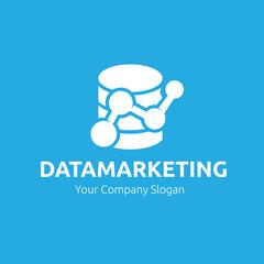 Data marketing Logo