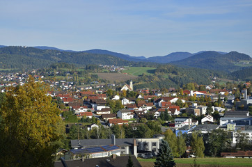 Ansicht von Viechtach, Bayerischer Wald