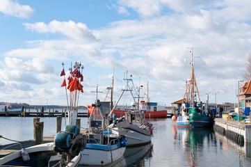 Fischereihafen Maasholm an der Schlei