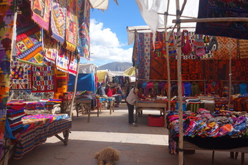 Market day Sacred Valleys Peru