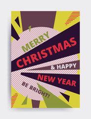 Merry christmas New Year design