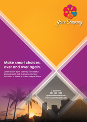 Smart Choice Flyer Brochure Layout Template