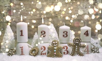Lebkuchen Hintergrund Advent