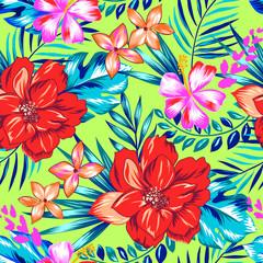 Pretty Hawaiian print - seamless background