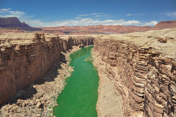 Marble Canyon, Colorado River in Arizona (USA)