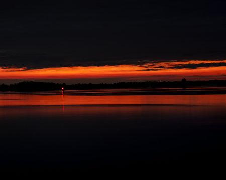 Carleton Island Sunset