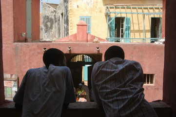 Slave House, Goree Island, Senegal