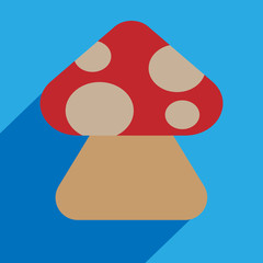 Mushroom vector icons