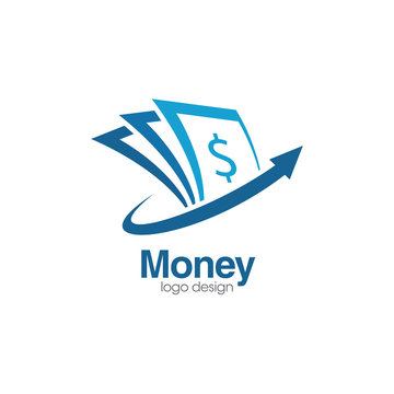 Money Creative Concept Logo Design Template