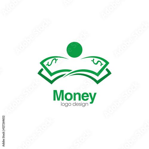 """""""Money Creative Concept Logo Design Template"""" Stock image ..."""