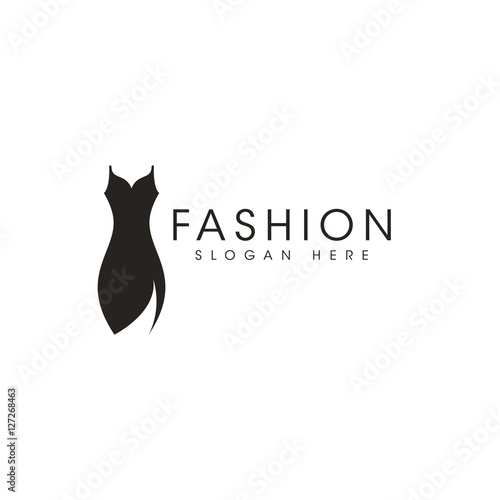 Fashion Icon Logo Design Vector Im Genes De Archivo Y Vectores Libres De Derechos En Fotolia