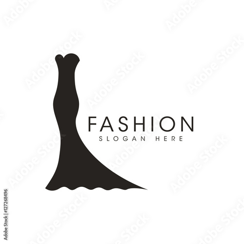 Fashion Icon Logo Design Vector Stock Image And Royalty