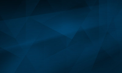 Abstract polygonal dark blue background