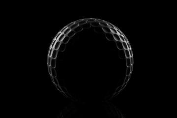 Golf Ball Silhouette