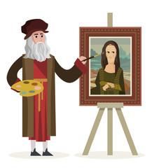 da vinci painting the mona lisa gioconda