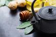 Japanese chinese tea teapot lemon