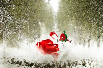 elf on road