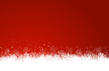 Wall Mural - dark red christmas background