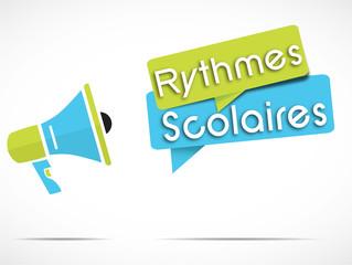 mégaphone : rythmes scolaires