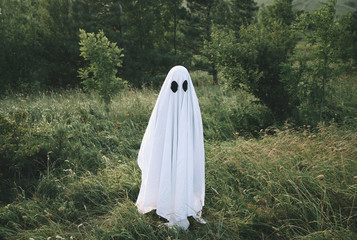 Small white ghost