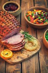 Glazed Holiday Ham