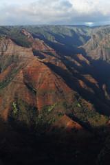 Waimea Canyon on the island of Kauai, Hawaii
