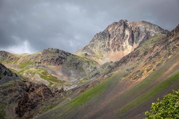 Steep Rocky Alaskan Mountain