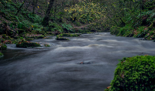 River Plym at Lydford Gorge