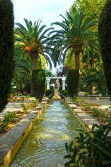 Jardines del Adarve, Priego de Córdoba, España