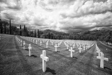 Cimitero monumentale di Firenze dedicato ai caduti della Seconda Guerra Mondiale