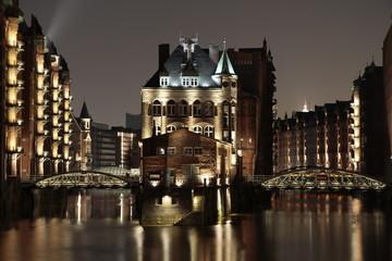 Hamburg Speicherstadt Elbschlösschen Hafencity