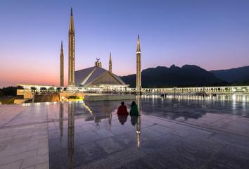 Shah Faisal mosque Islamabad Pakistan