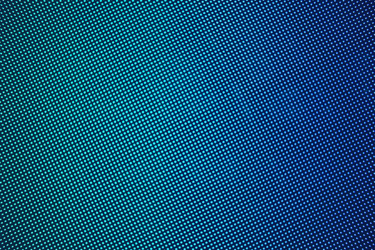 LED screen gradient blue green
