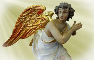 Betender Engel, Schutzengel
