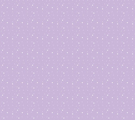 Snowflakes seamless pattern. Snow falls background. Vector illustration