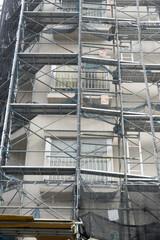 修繕工事中の日本雑居ビル 6