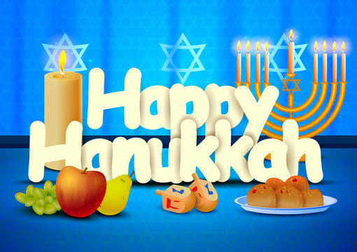 Happy Hanukkah wallpaper background