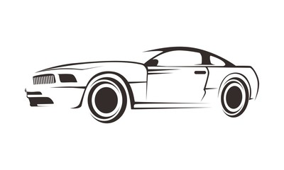 car line logo template