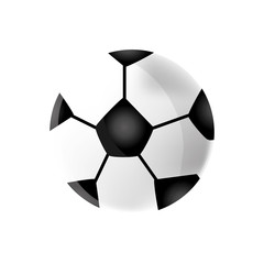 soccer football ball icon vector illustration graphic design