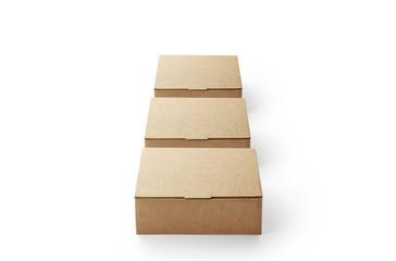 3つ縦に並べた箱