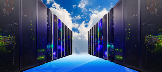 Conceptual vision of Datacenter on the cloud  Computing